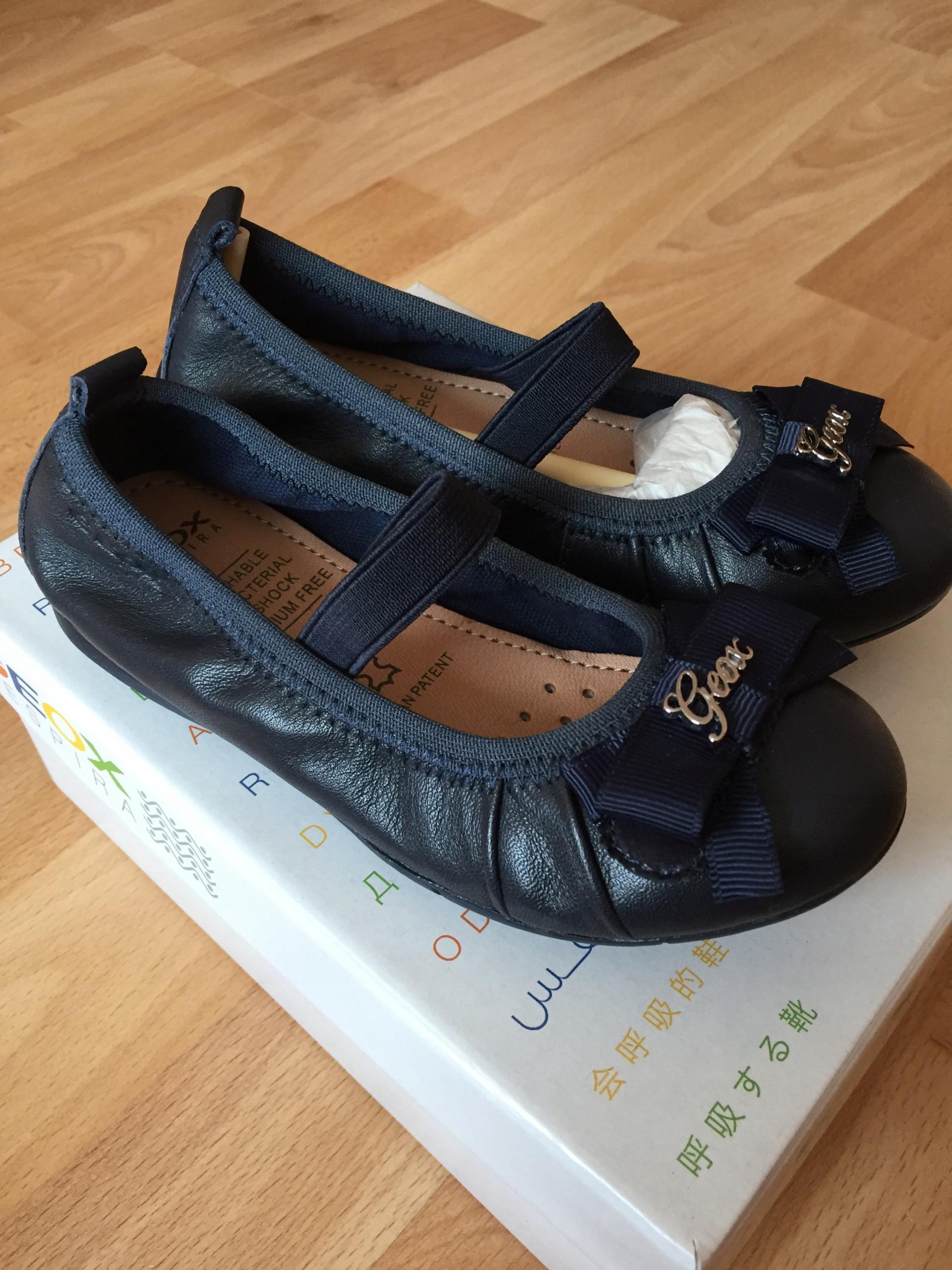 GEOX - BALERINY buty skórzane - rozmiar 27 - NOWE