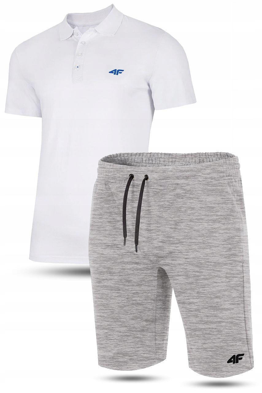 Zestaw koszulka POLO + Krótkie spodenki 4F 3XL
