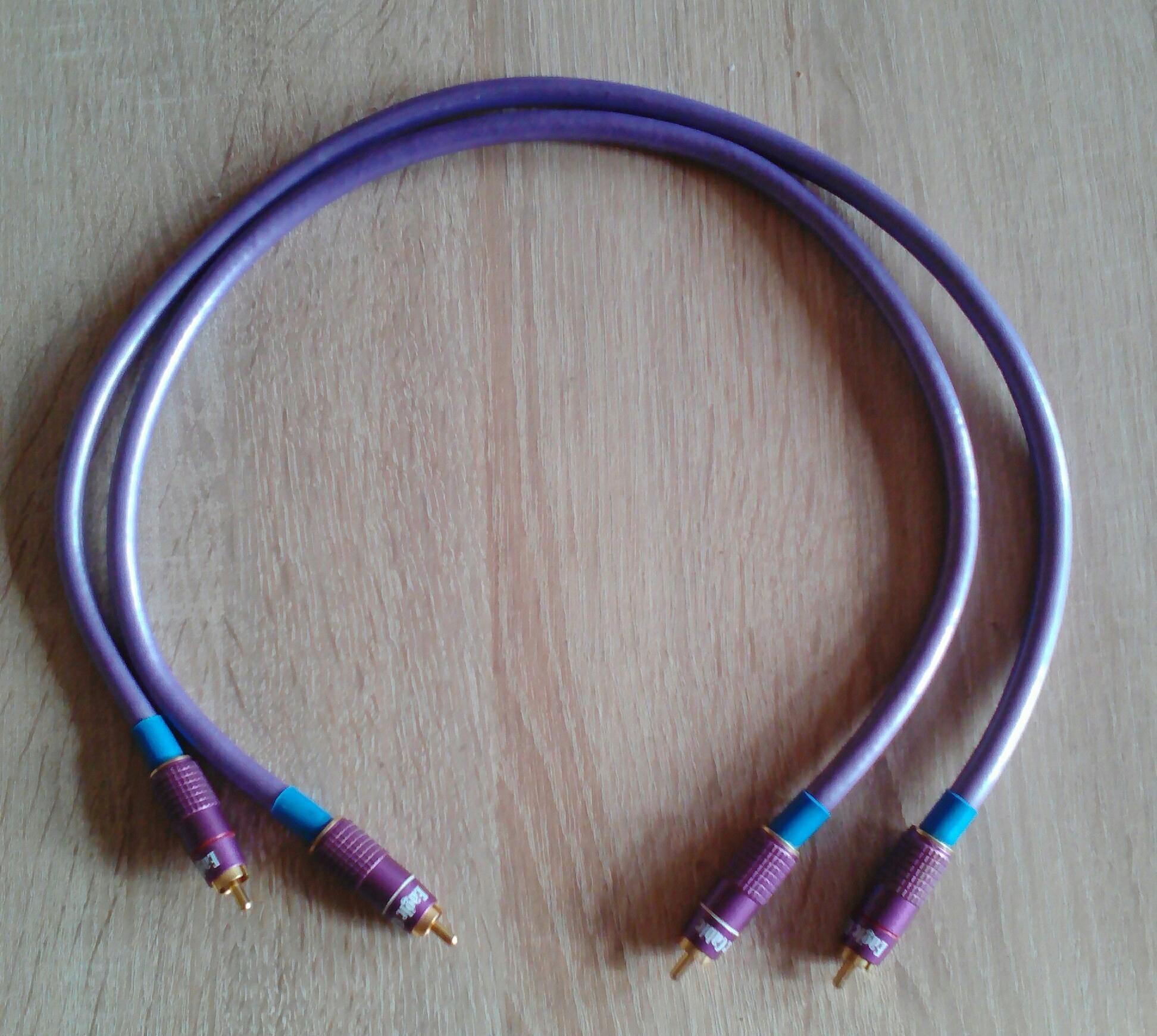 Kabel Interkonekt REAL CABLE MC 90 - 0.6 m. !!!