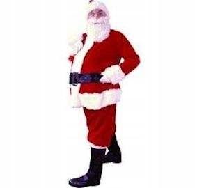 Przebranie Świętego Mikołaja dla rodzica - ZESTAW
