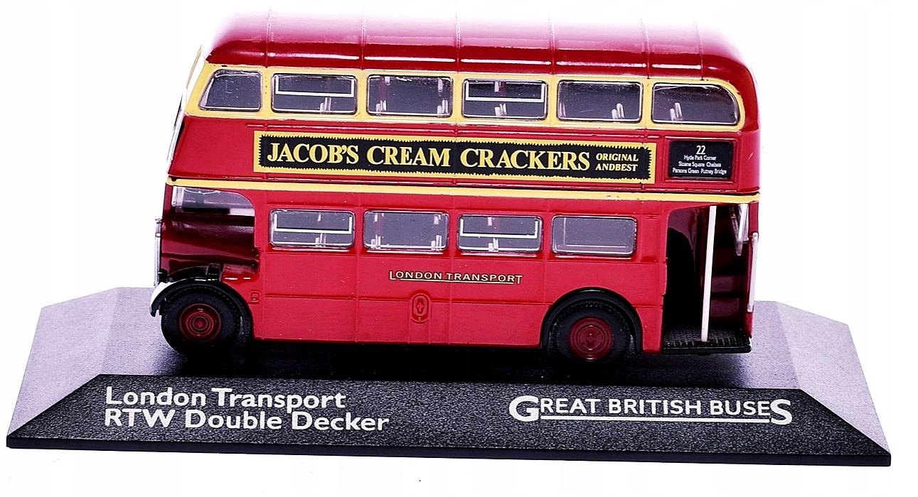 9115-29 LONDON TRANSPORT FIGURKA AUTOBUS PIETROWY