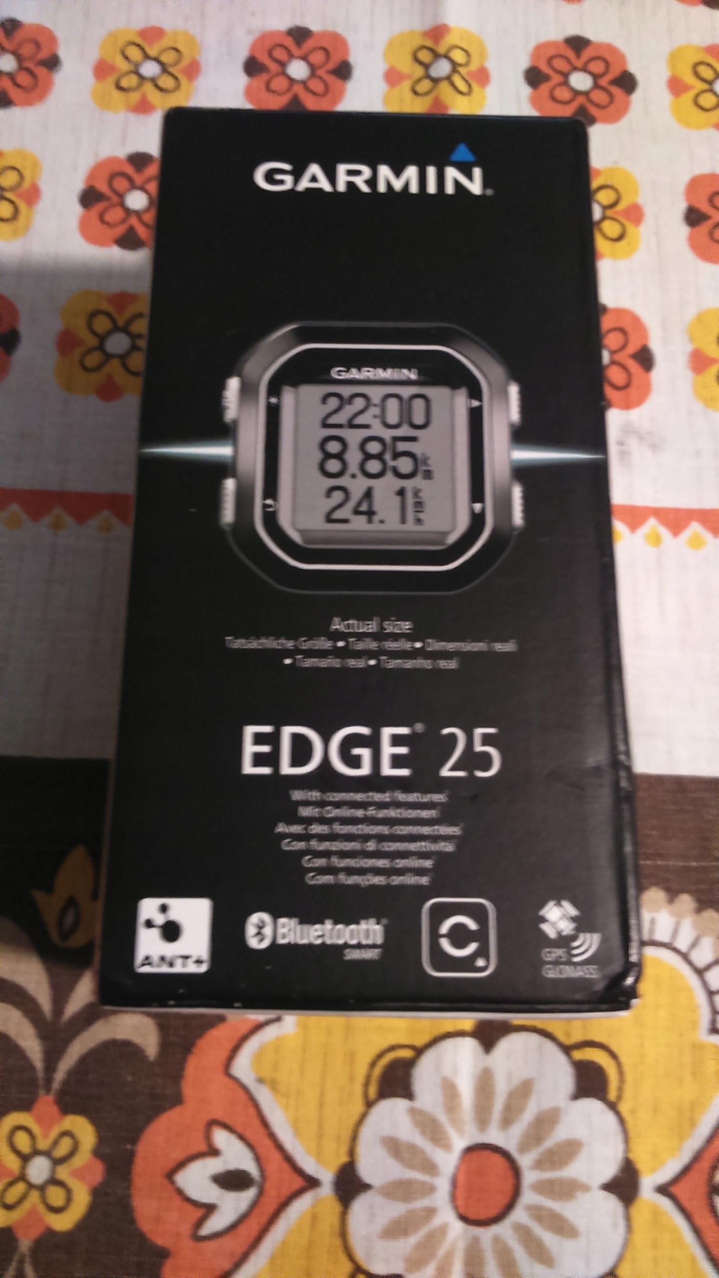 nowy Garmin Edge 25