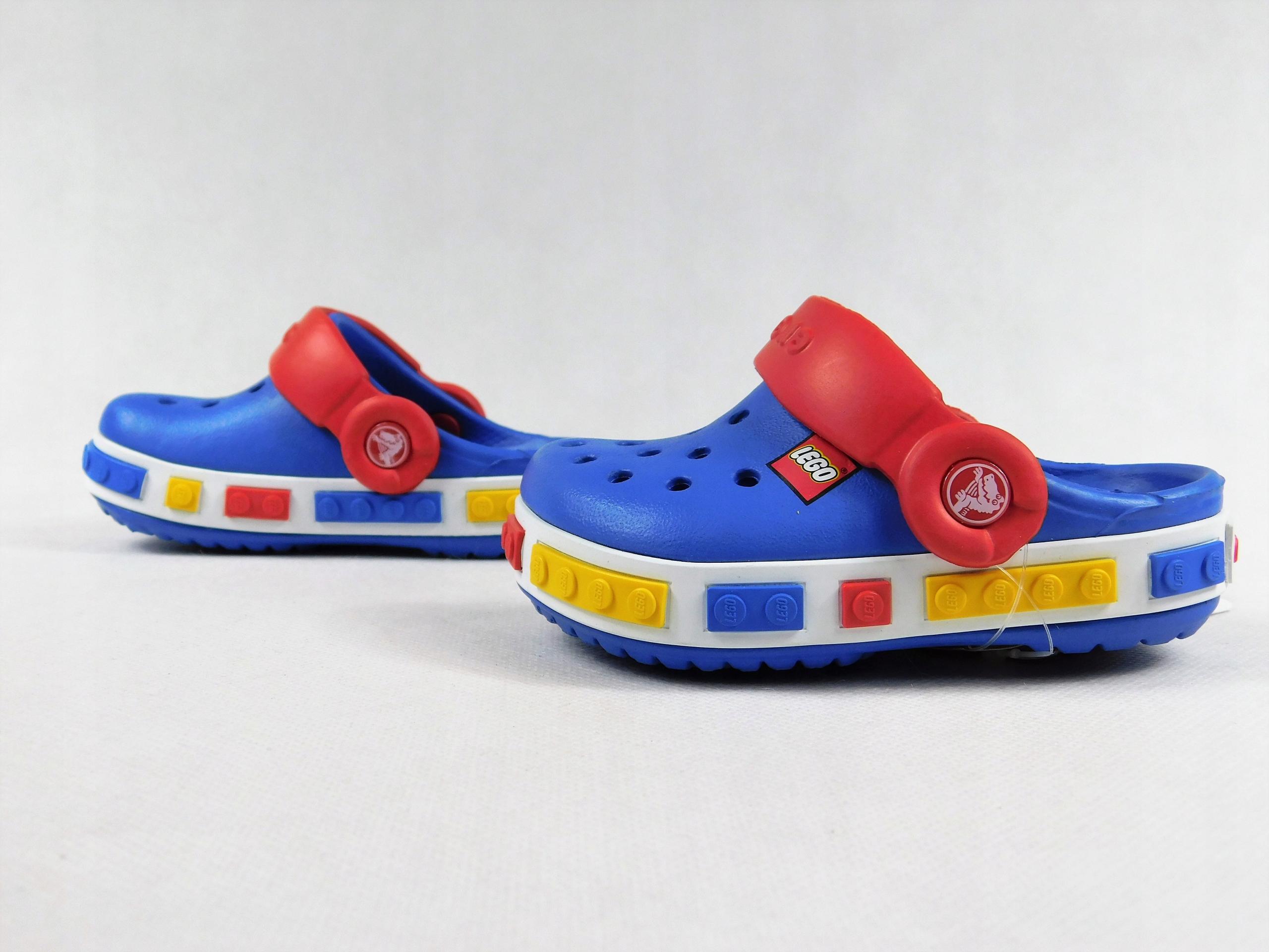 crocs c4/5 19-21 crocband kids Lego