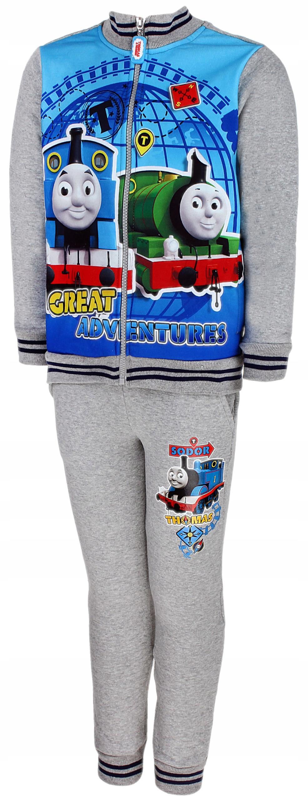 Dres Tomek i Przyjaciele Thomas bluza spodnie 92