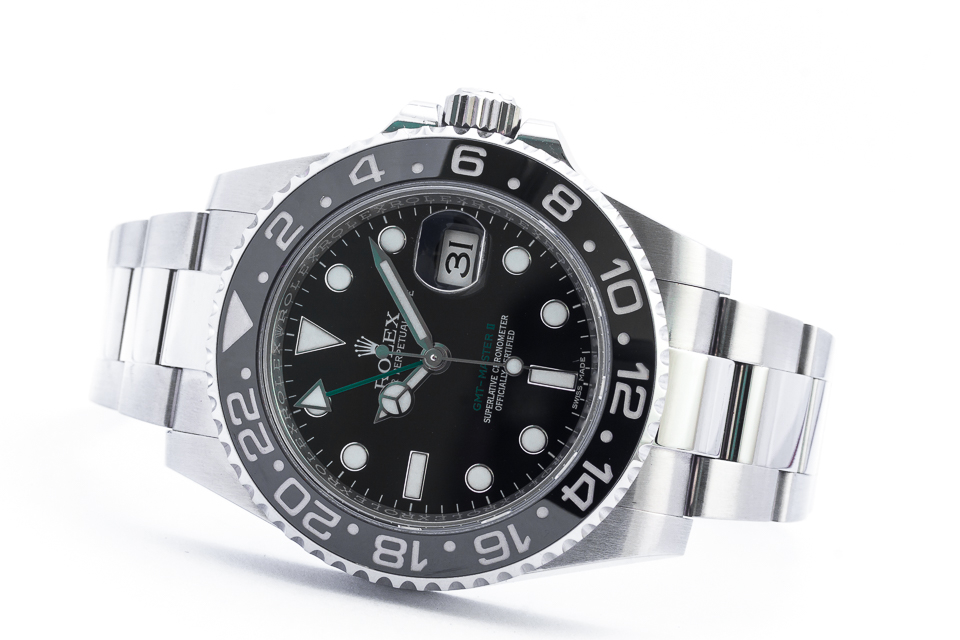 ROLEX OYSTER PERPETUAL GMT-MASTER II 40 MM /KPL.