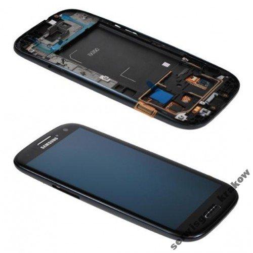 100%OR WYŚWIETLACZ LCD DOTYK SAMSUNG i9300 S3 czar