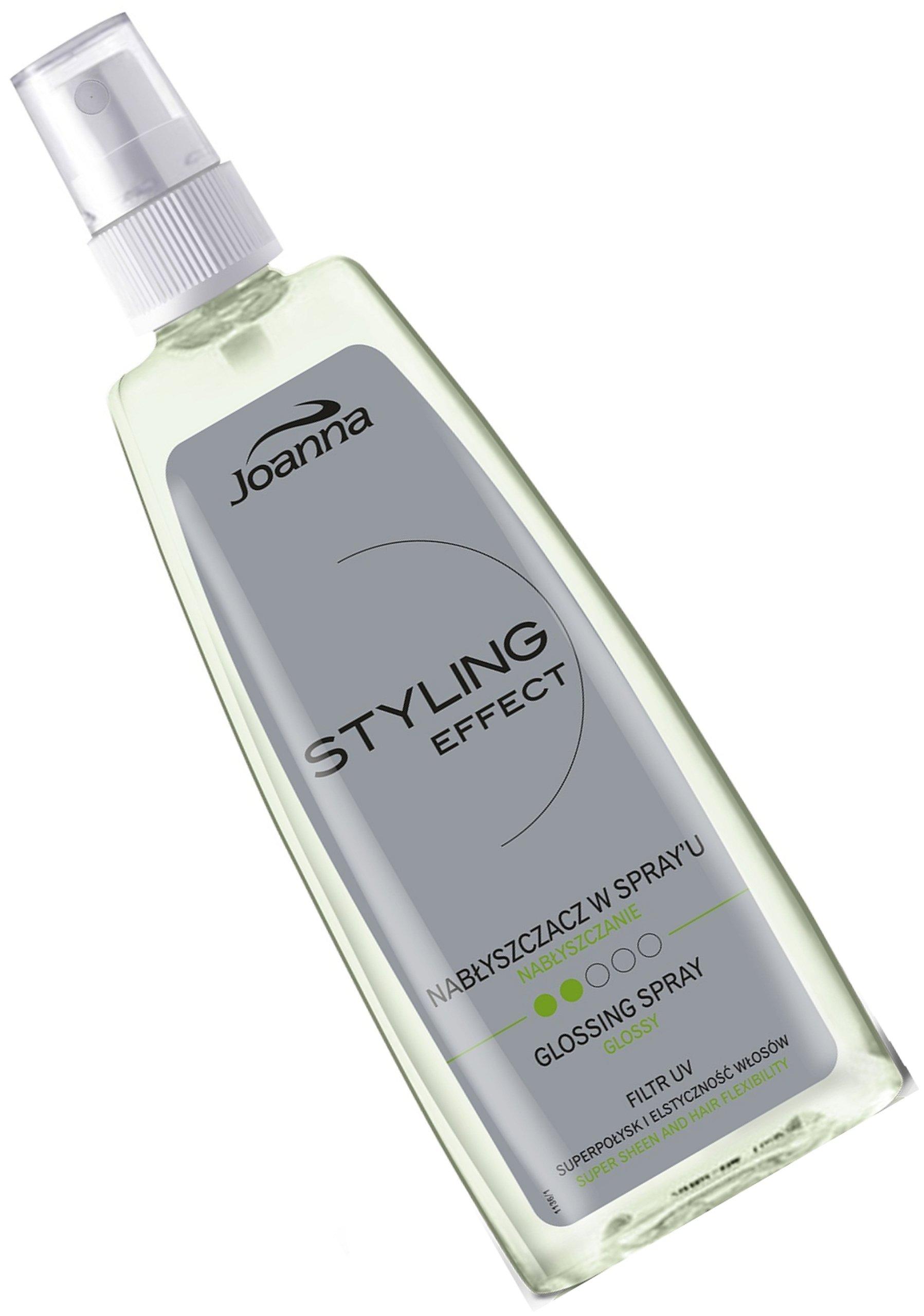 JOANNA NABŁYSZCZACZ do włosów w sprayu 150ml filtr