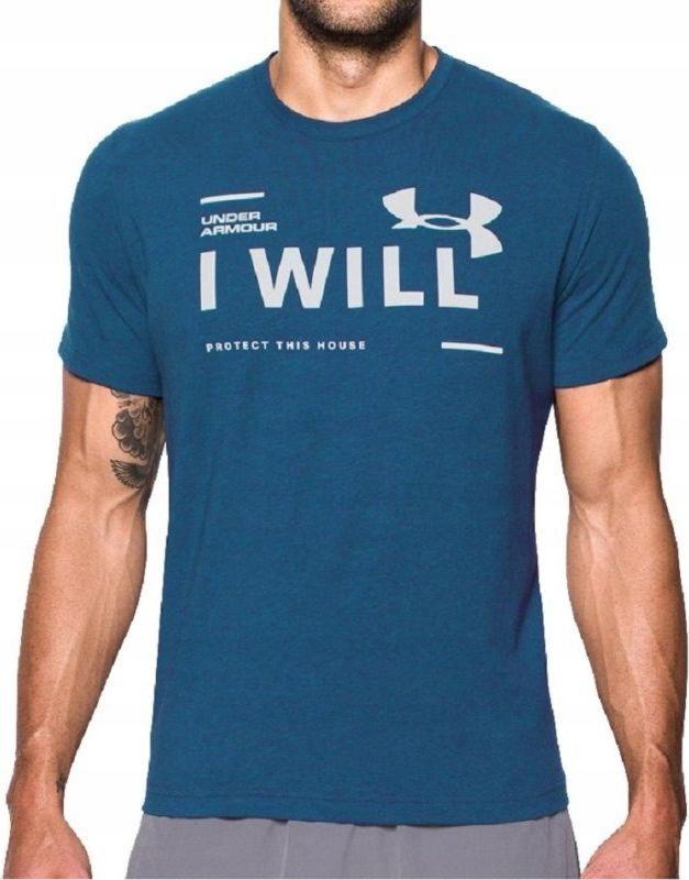 Under Armour Koszulka męska I Will Blue r. XS (129