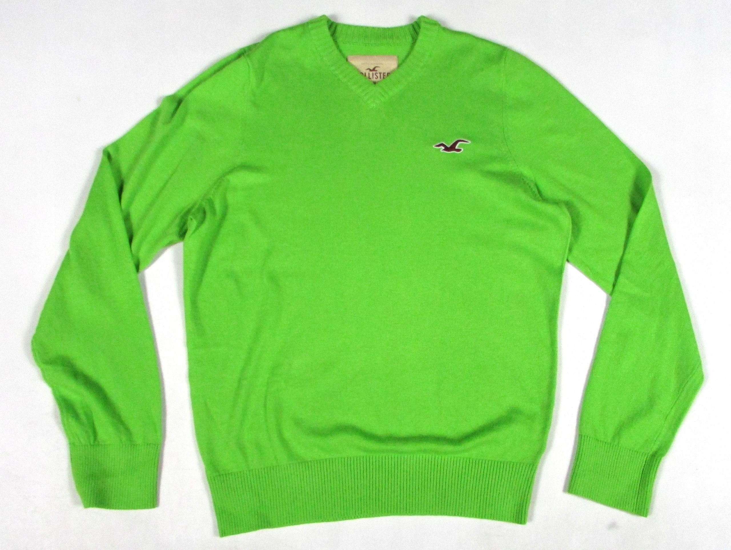 ** HOLLISTER **__L__Modny, super sweterek z wełną