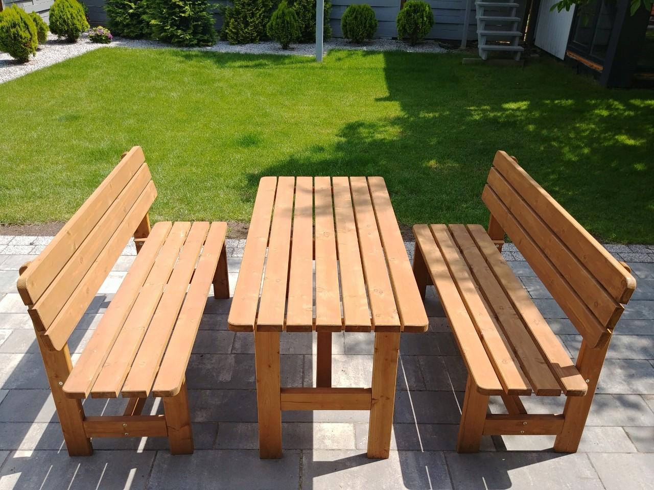 Meble Drewniane Ogrodowetarasowe Komplety Mebli