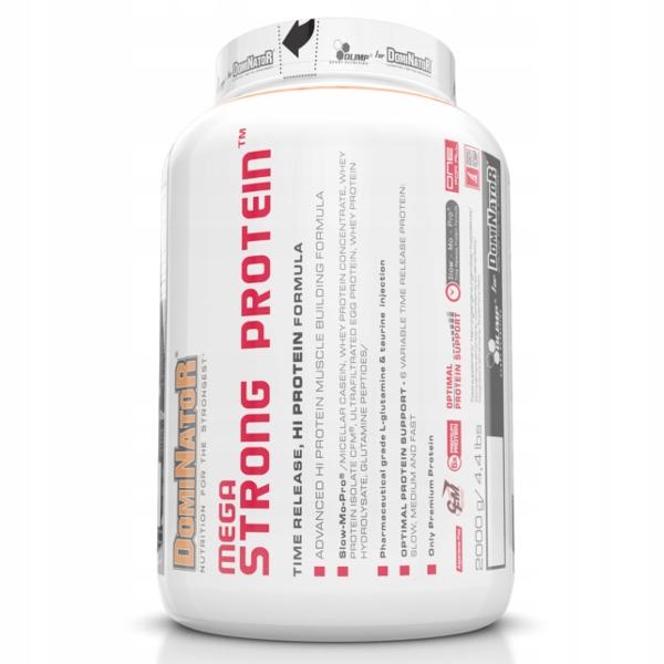 Olimp Dominator Mega Strong Protein 2kg truskawka