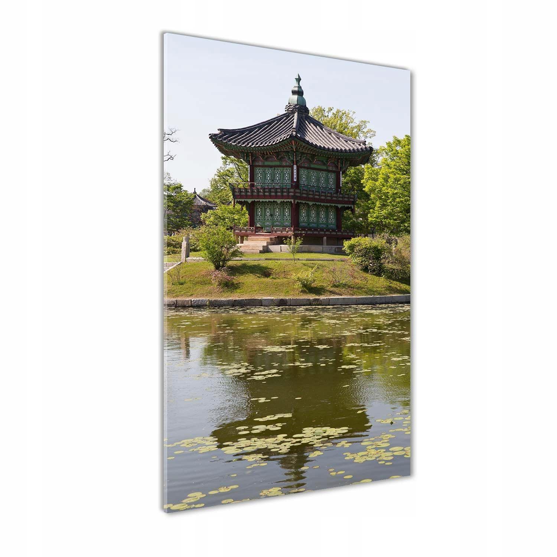 Foto obraz szkło hartowane Park Japoński 70x140 cm