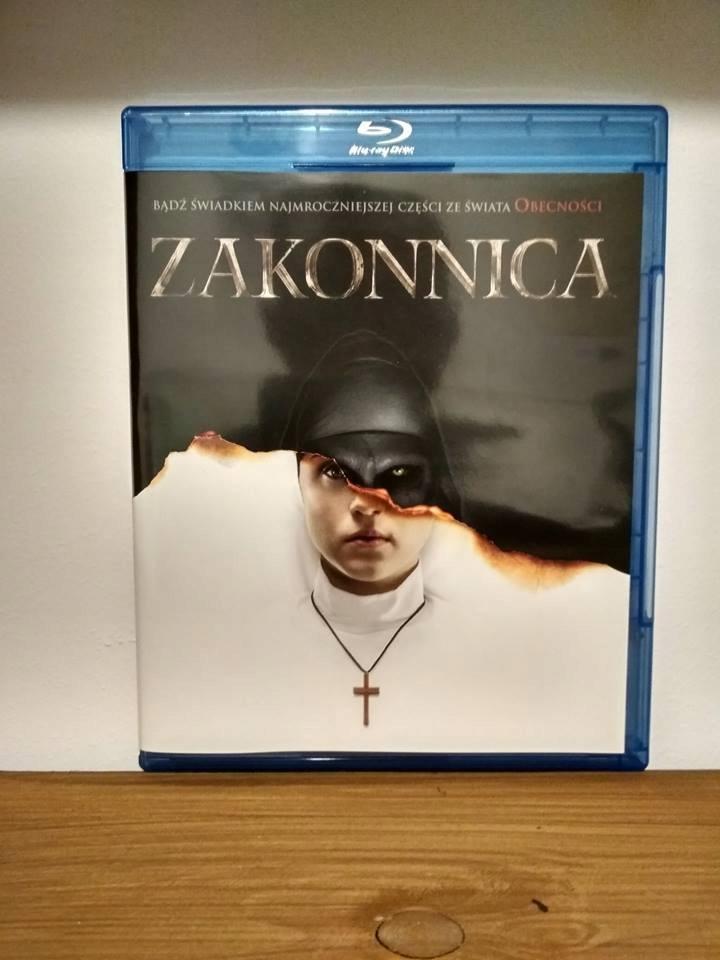 Zakonnica PL The Nun horror Obecność Blu-Ray