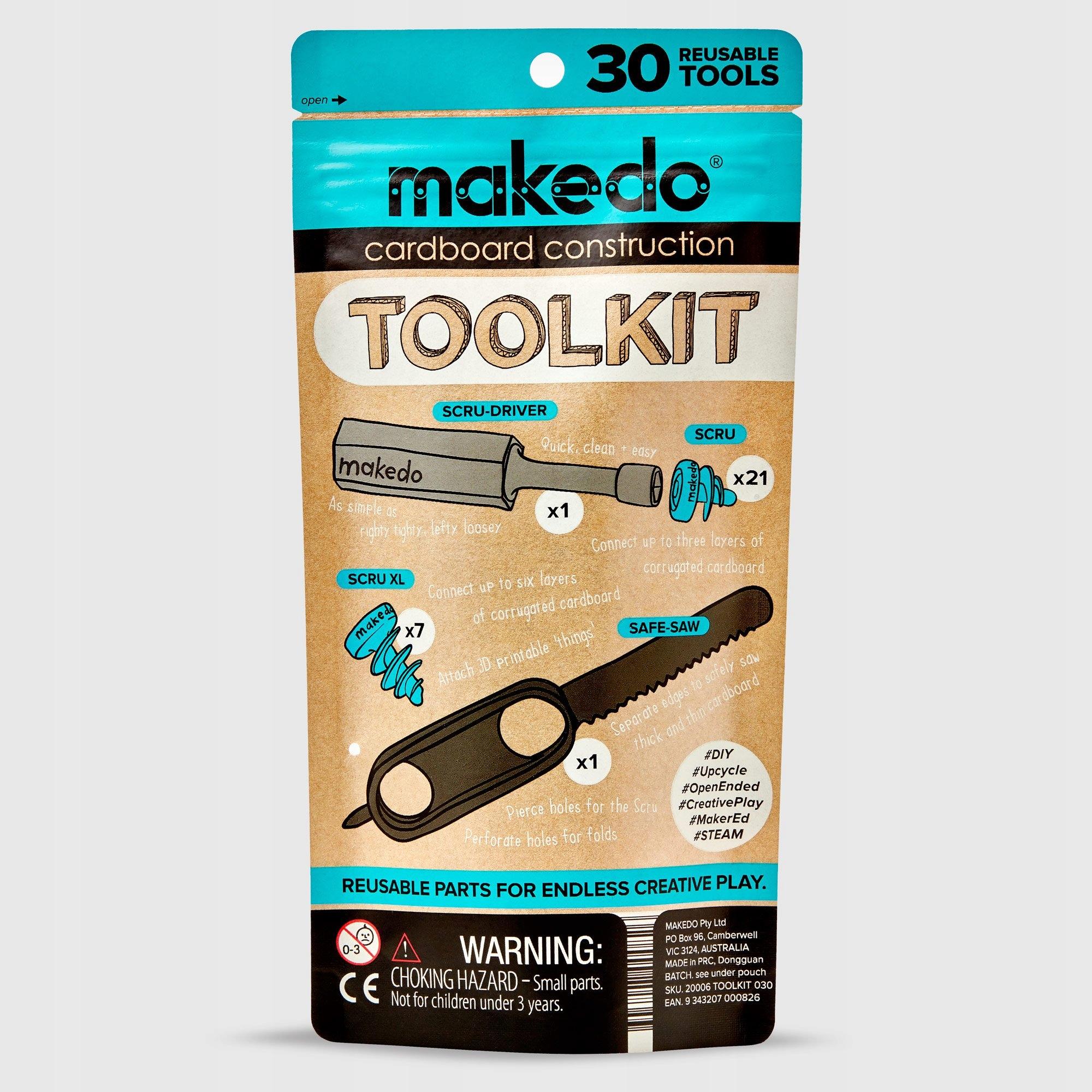 Make.Do zestaw narzędzi do tworzenia z tektury