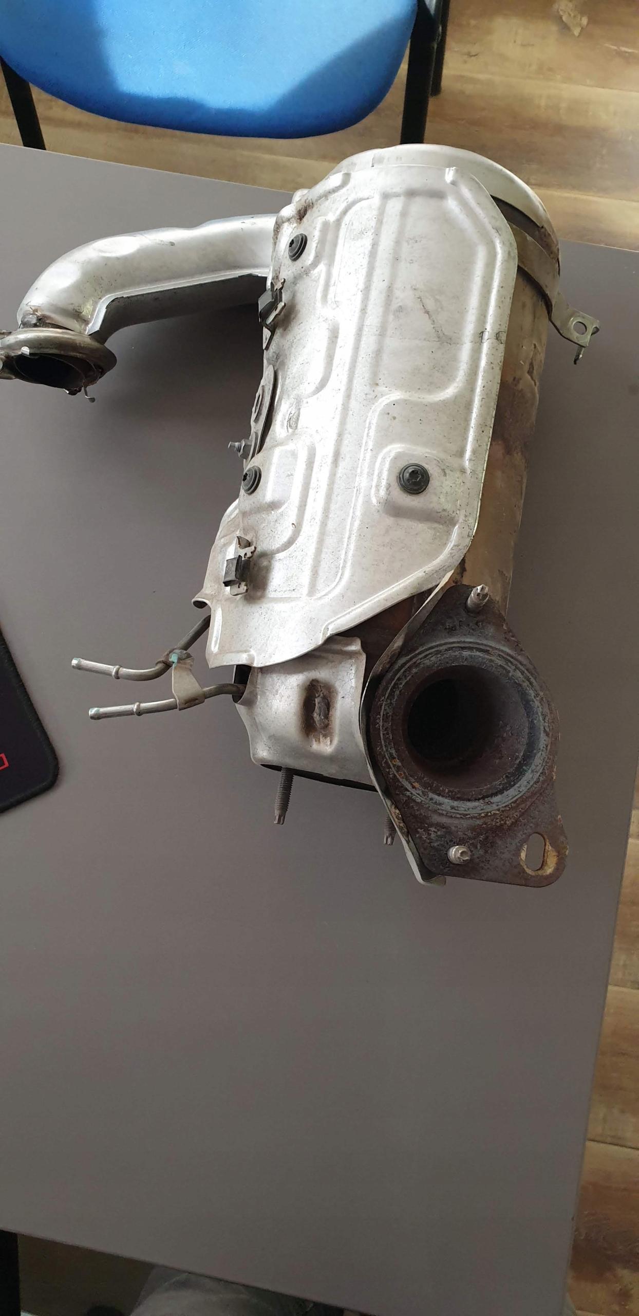 Filtr DPF Renault Clio IV 1.5 DCI 12r. 8201140545