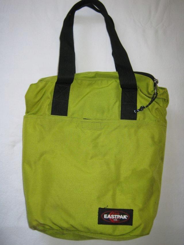 Zielona seledyn torba mieszcząca A4