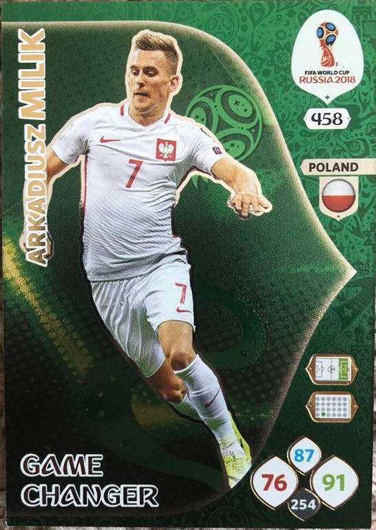 WORLD CUP RUSSIA 2018 GAME CHANGER MILIK 458