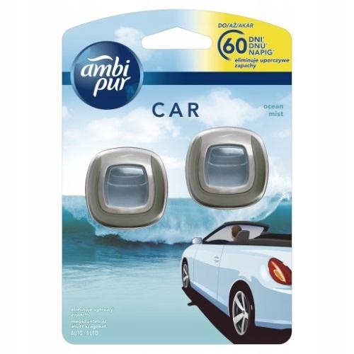 AMBI PUR CAR OCEAN 2X30 DNI ODŚWIEŻACZ DO AUTA