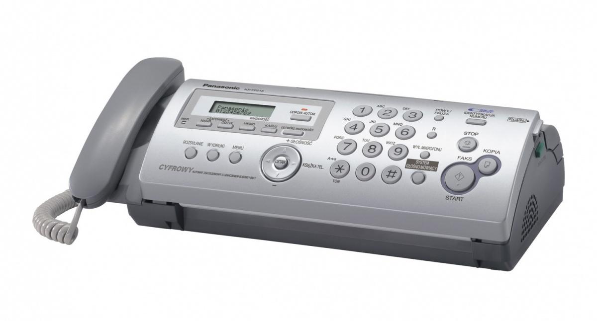 Panasonic KX-FP218 + folie GRATIS [telefaks/fax]
