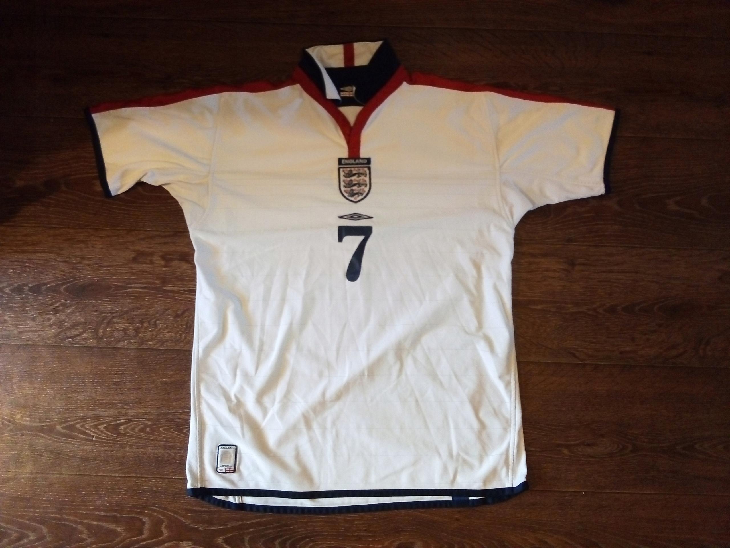 Koszulka Anglia umbro BECKHAM XL ? L ?