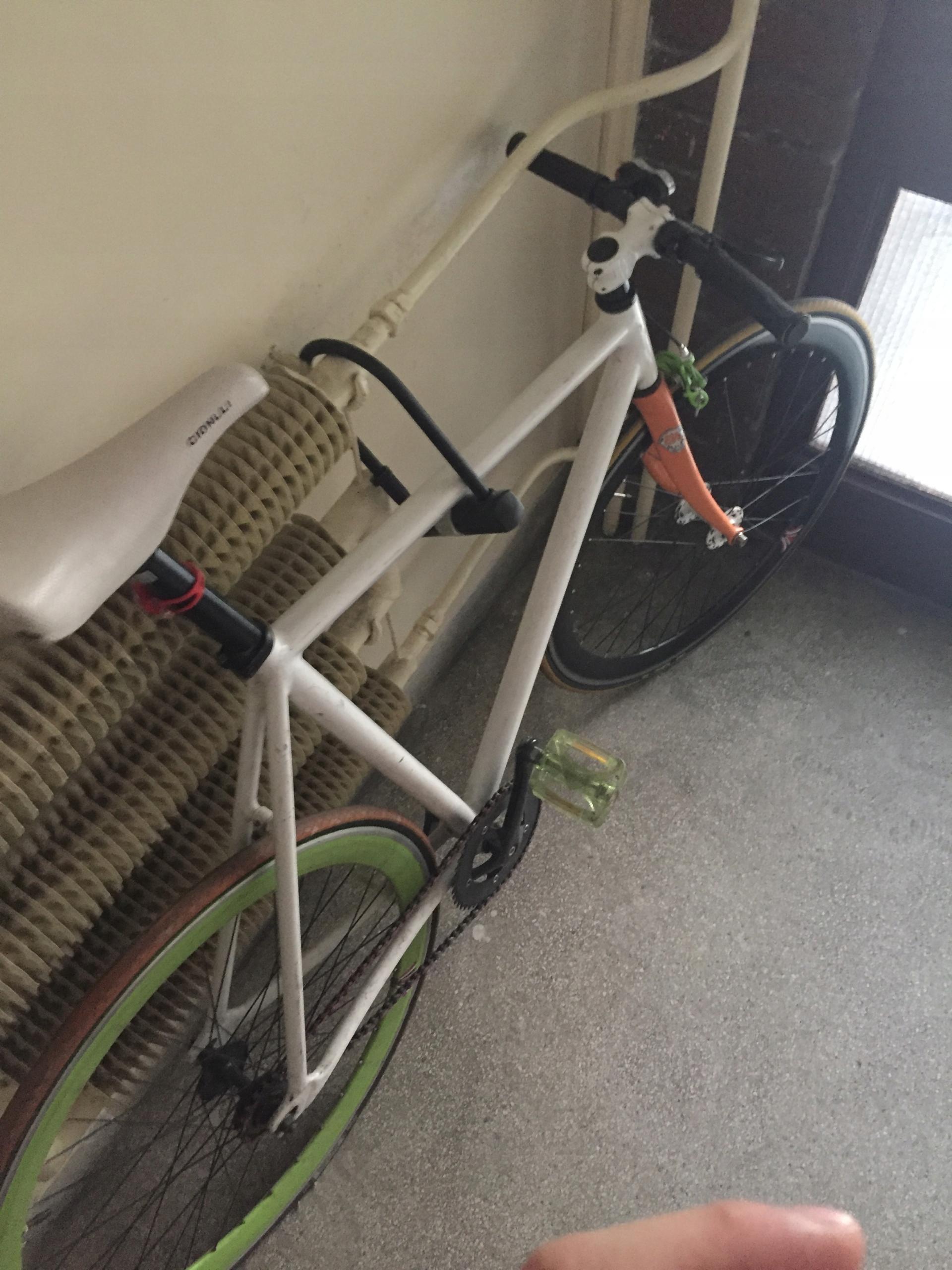 Rower ostre koło Mk Bicycle