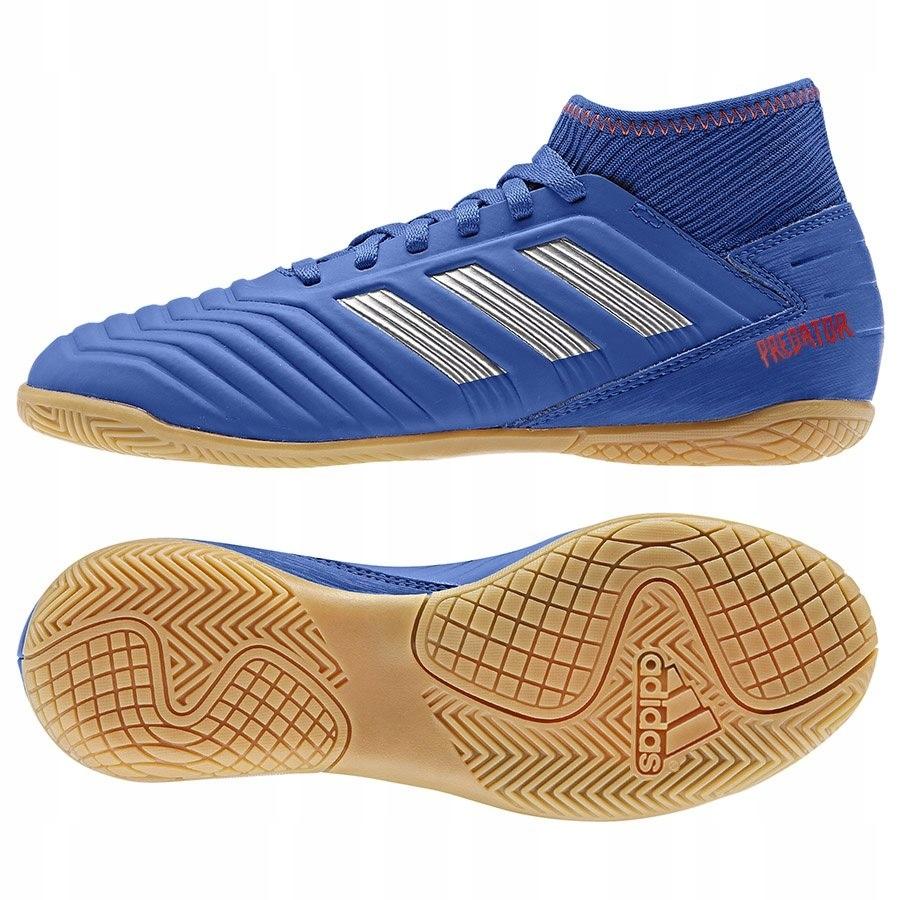 Buty adidas Predator 19.3 CM8543 niebieski 35 1/2