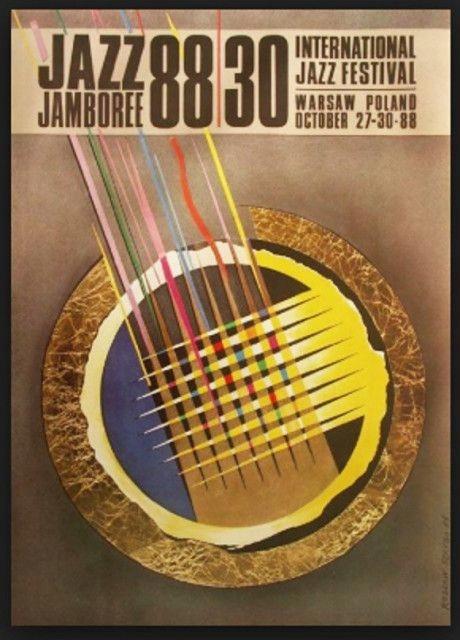 Plakat Muzyczny Jazz Jamboree 88 Projekt Szaybo 7885003119