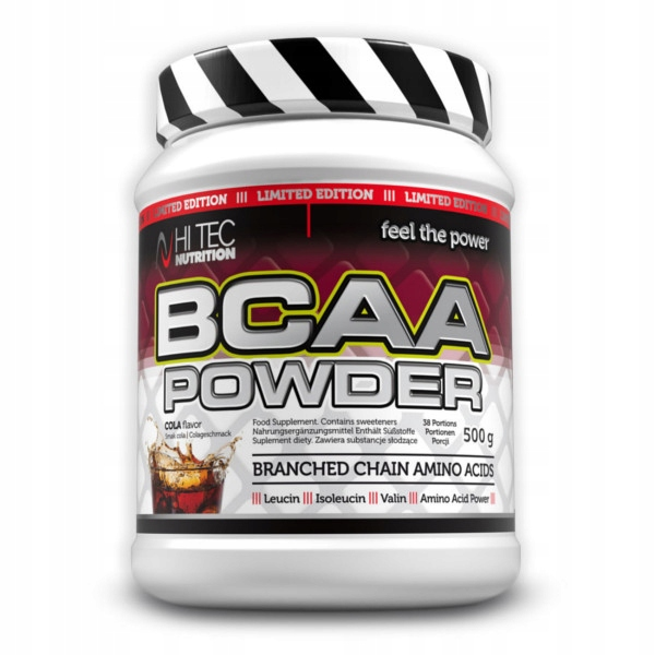 Hi Tec BCAA Powder - 500g pomarańcz