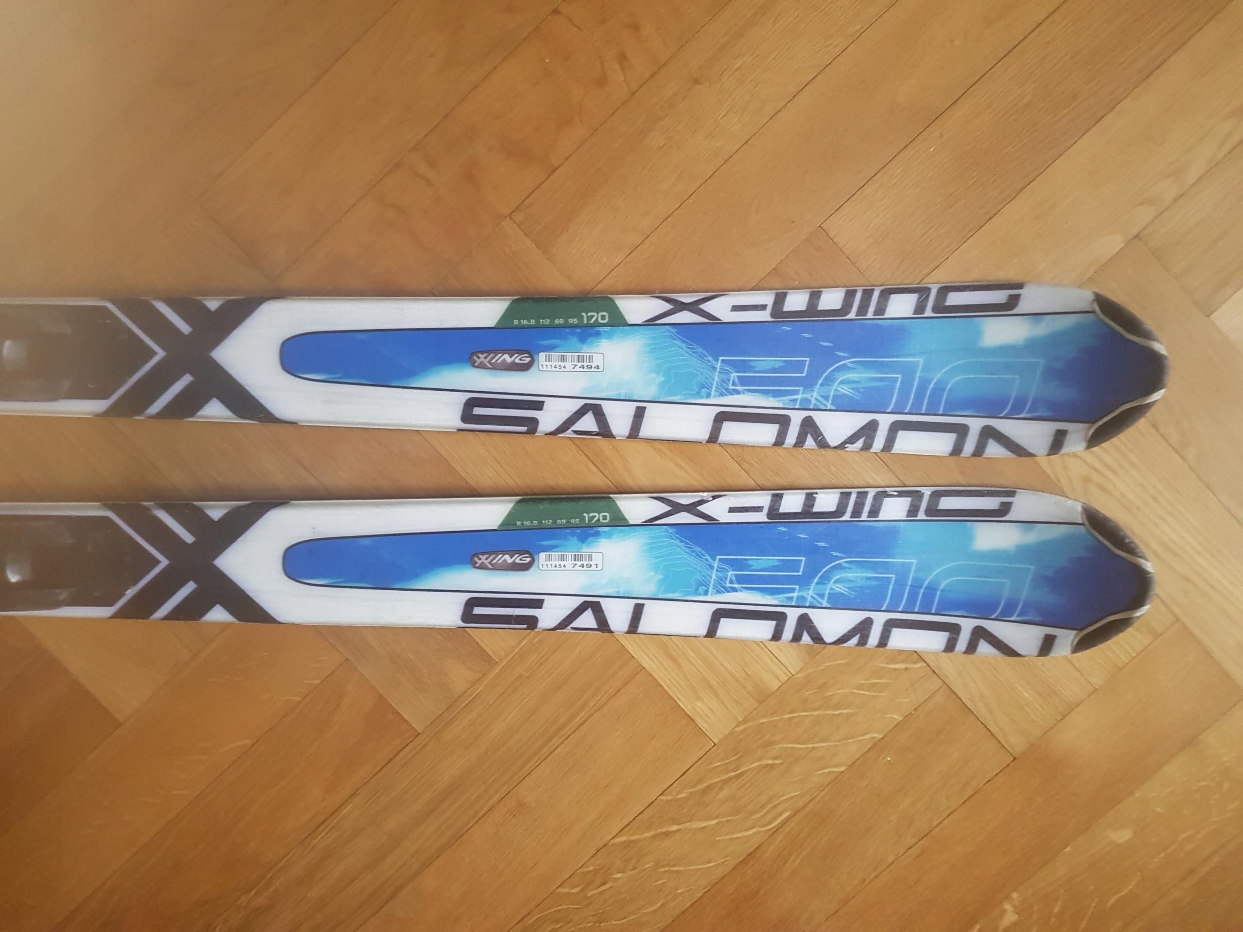 Narty Salomon X-WING 500 170 cm