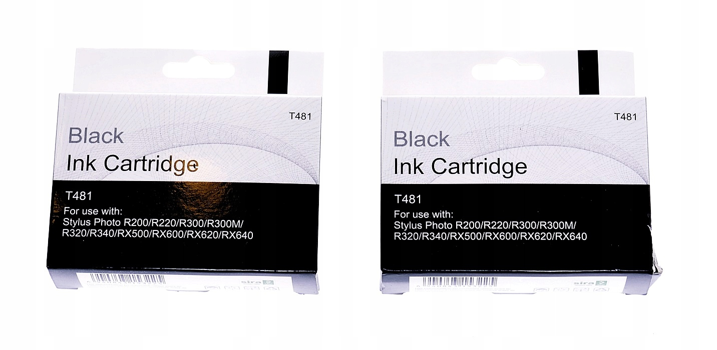 5773-14 BLACK INK CARTRIDGE T481... KARTRIDZ 2SZT.
