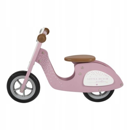 Rowerek biegowy - Różowy - Little Dutch