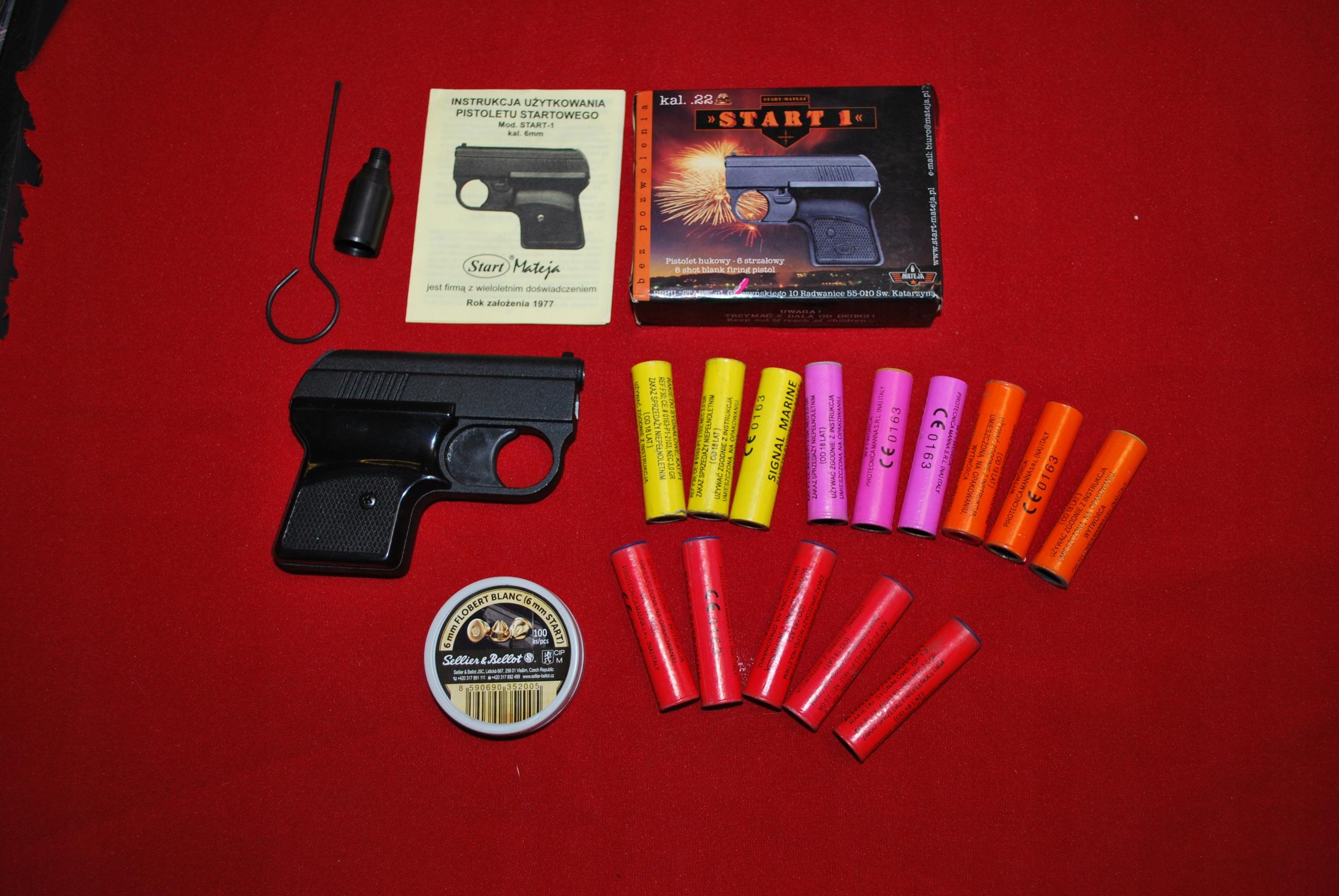 Pistolet START 1 + akcesoria zestaw