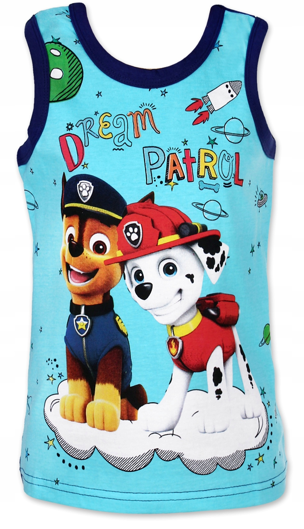 Koszulka Bezrękawnik Top Psi Patrol 98 gran