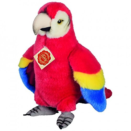 Teddy Hermann 941569 Parrot Standing Soft Toy, 24