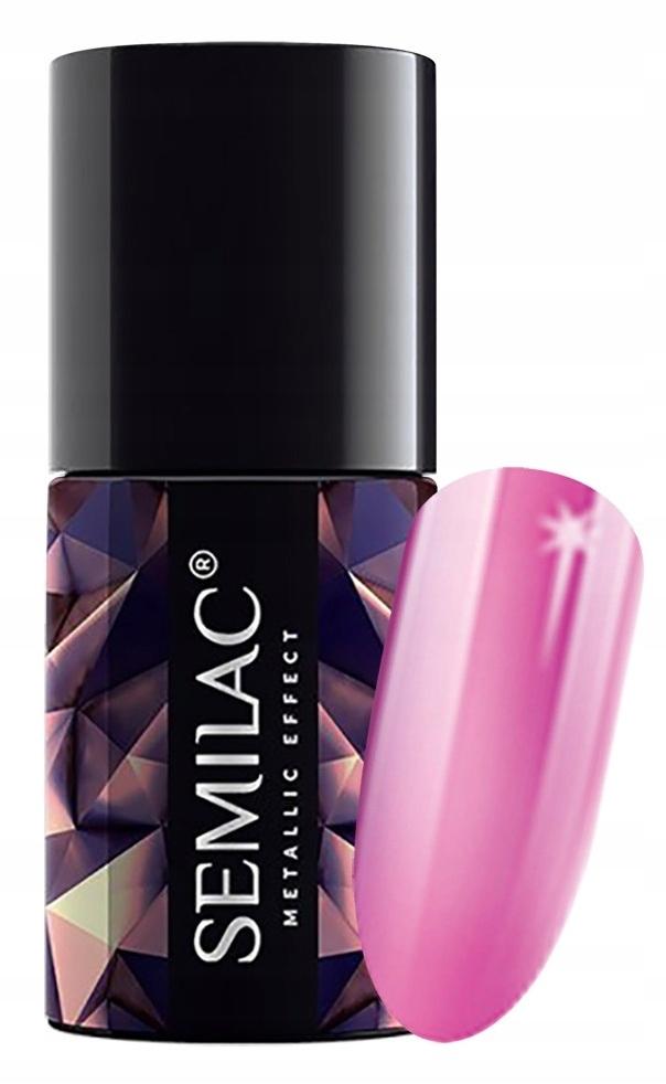 SEMilAC Metalic Efekt Pink 247
