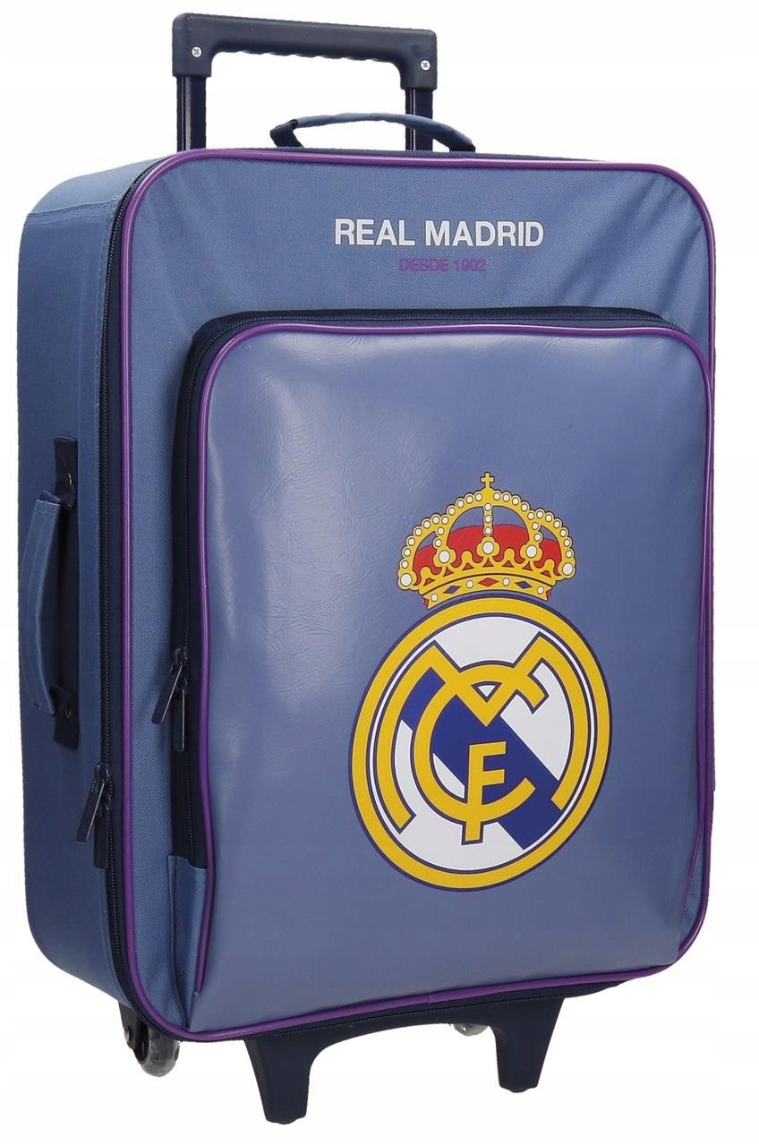 Walizka na kółkach Real Madryt 04