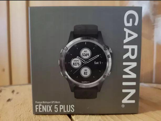 Zegarek Garmin Fenix 5 PLUS. Nowy z rachunkiem.