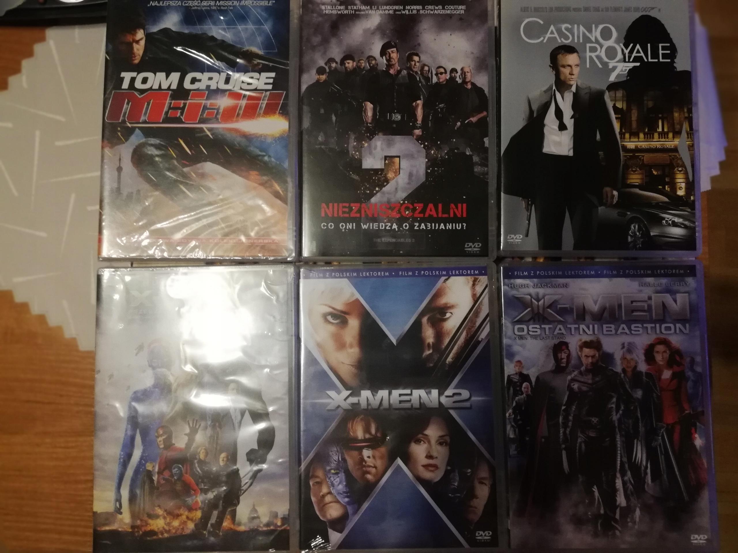 Zestaw filmów DVD NOWE
