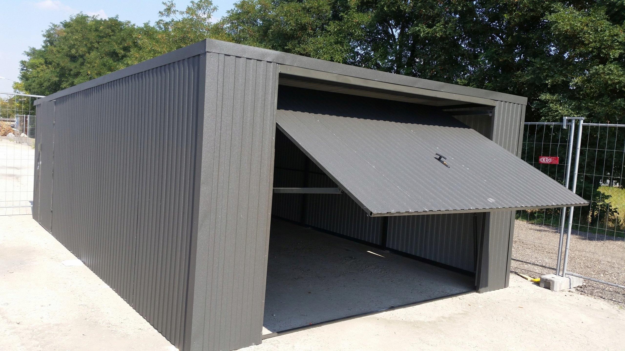 Garaż Blaszany Całoroczny Wiata Blaszak 5x6 6834278240