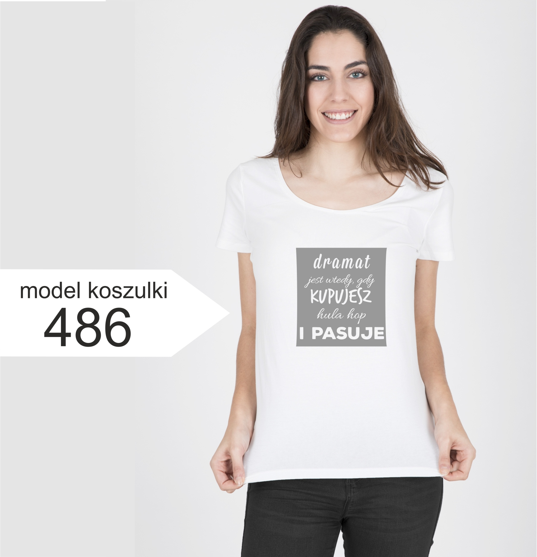 13393dd664f3c9 K486 T-shirt koszulka DRAMAT Hula Hop damska S - 7501293563 ...