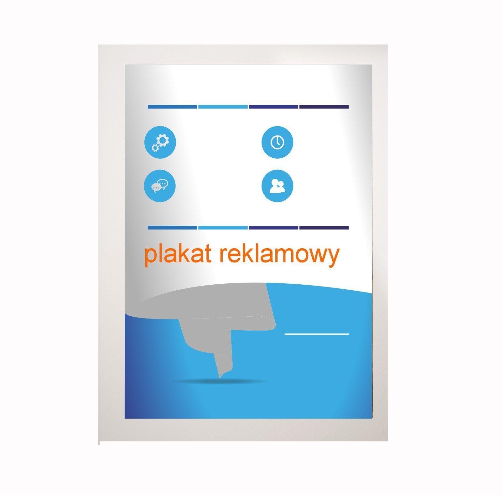 Plakat B0 1414x1000mm, 200g Druk Lateksowy jakość
