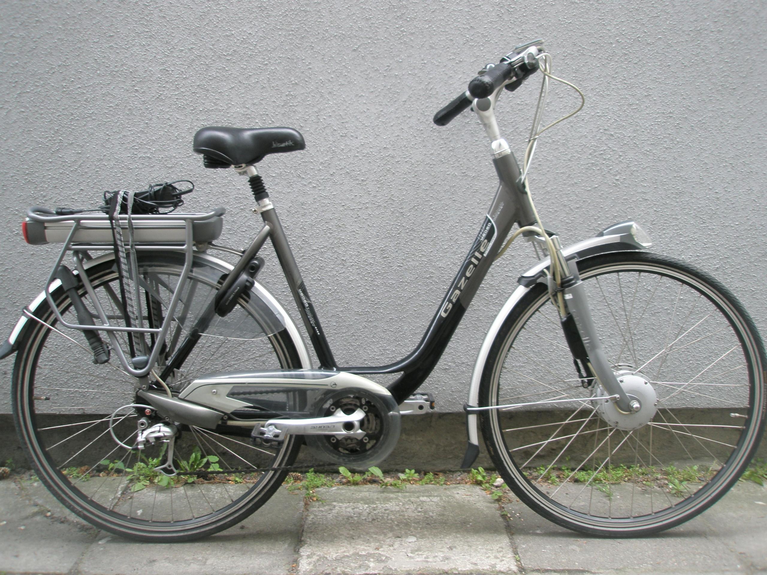 Rower elektryczny Gazelle Medeo EXCELLENT Złota B