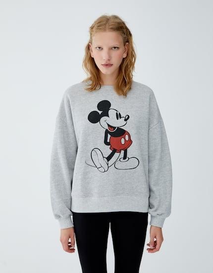Pull&bear bluza Mickey Mouse Disney M