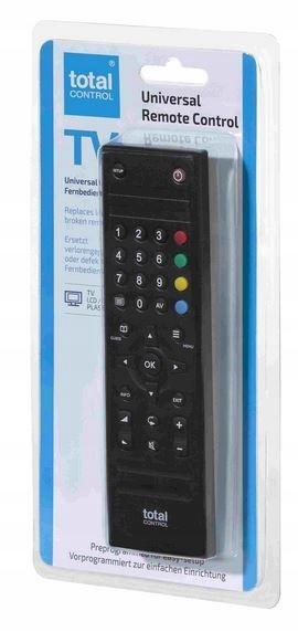 Pilot uniwersalny total control do obsługi TV