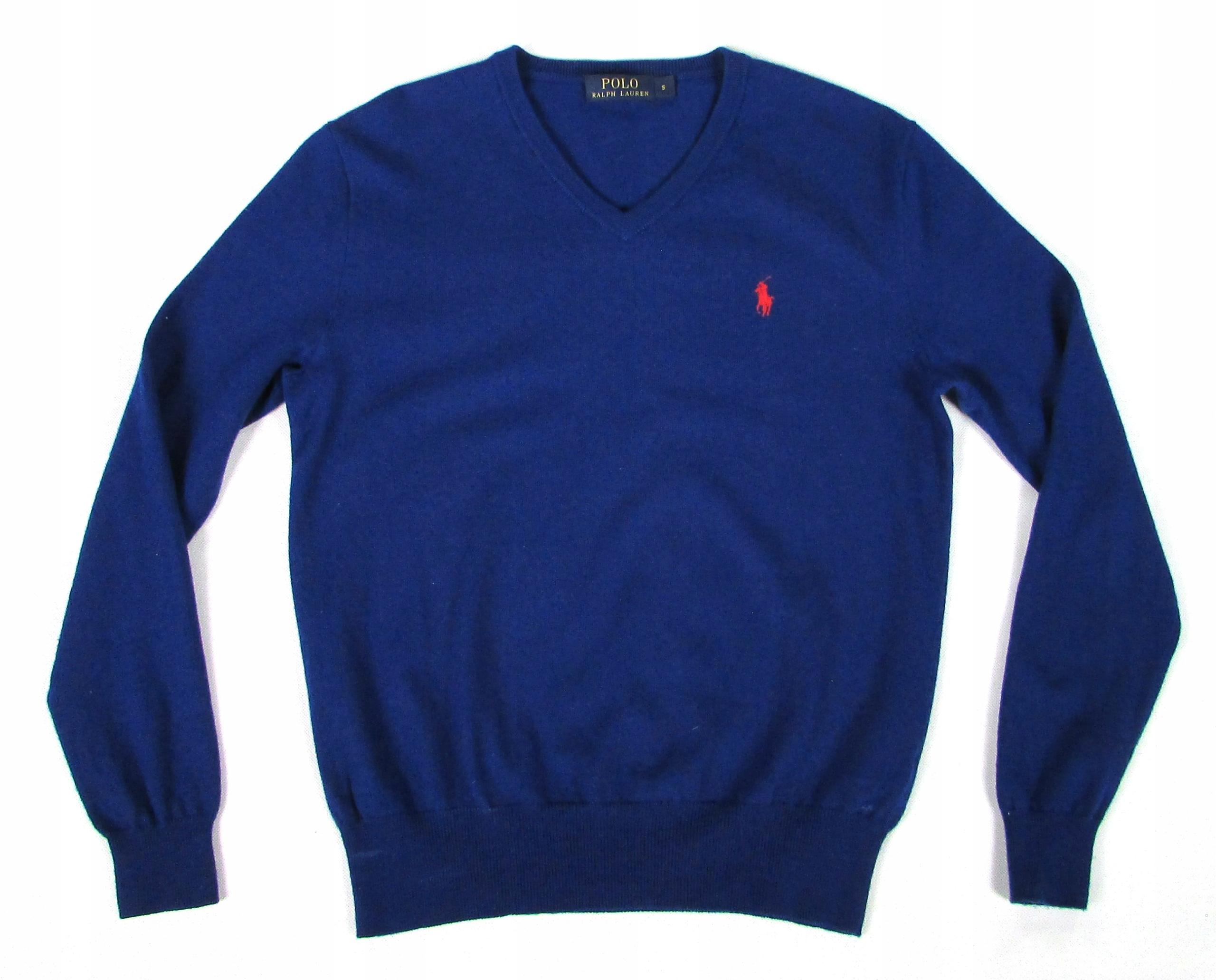 ** RALPH LAUREN **_S_Rewelacyjny, wełniany sweter