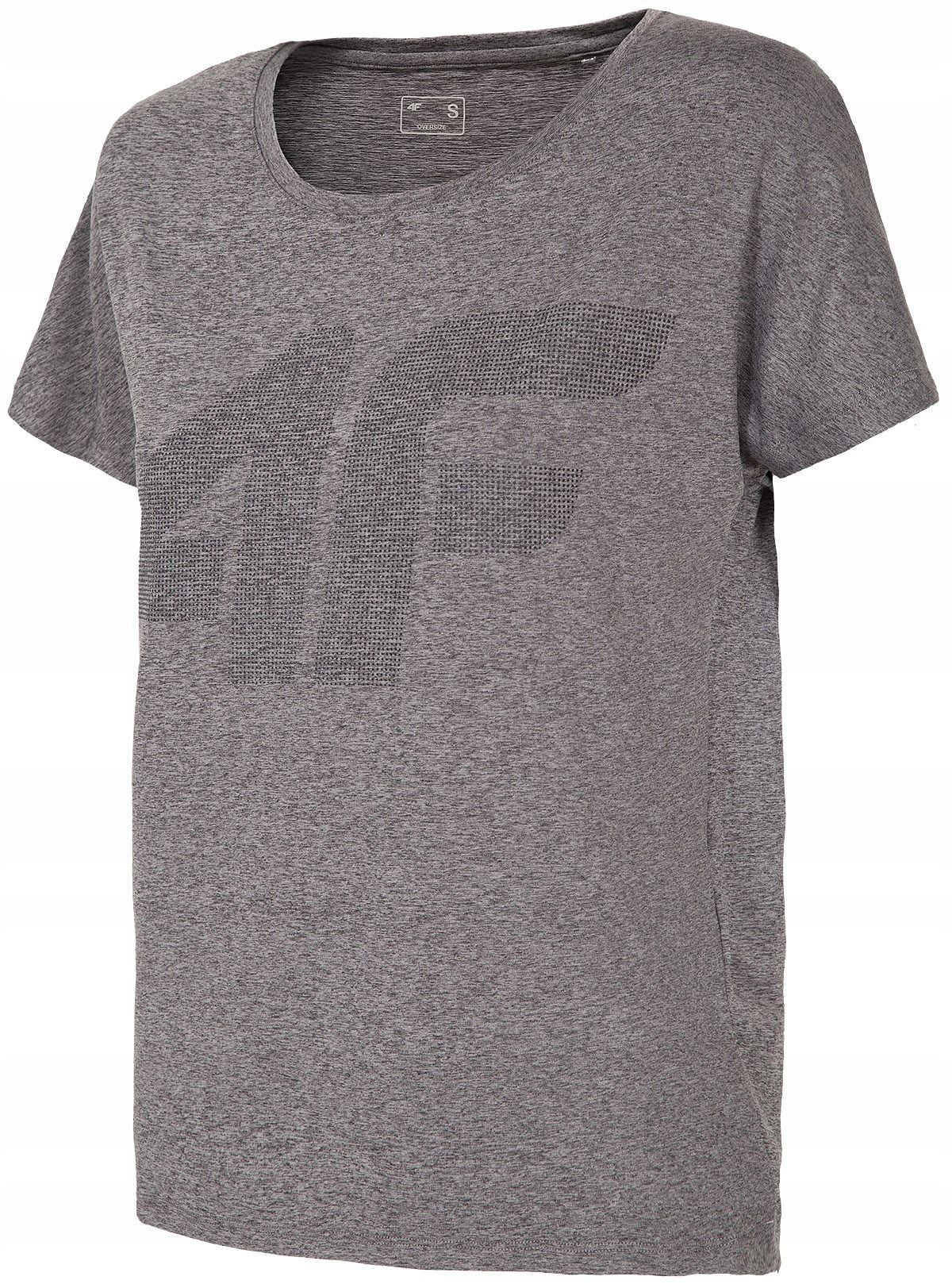 T-Shirt Damski Termoaktywny 4F TSDF005 M Oversize