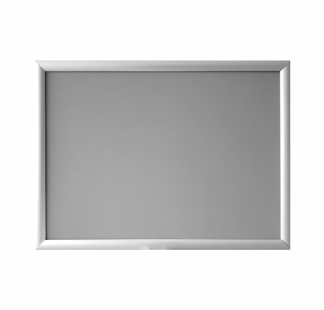 Ramka OWZ A2 aluminiowa + folia ochronna + kołki
