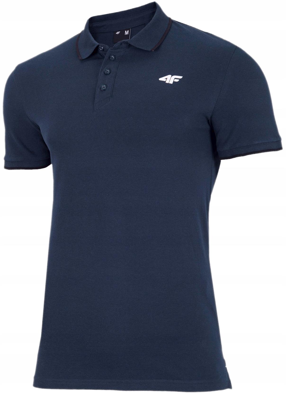 Polówka Męska 4F Polo Koszulka T-SHIRT BAWEŁNA XL