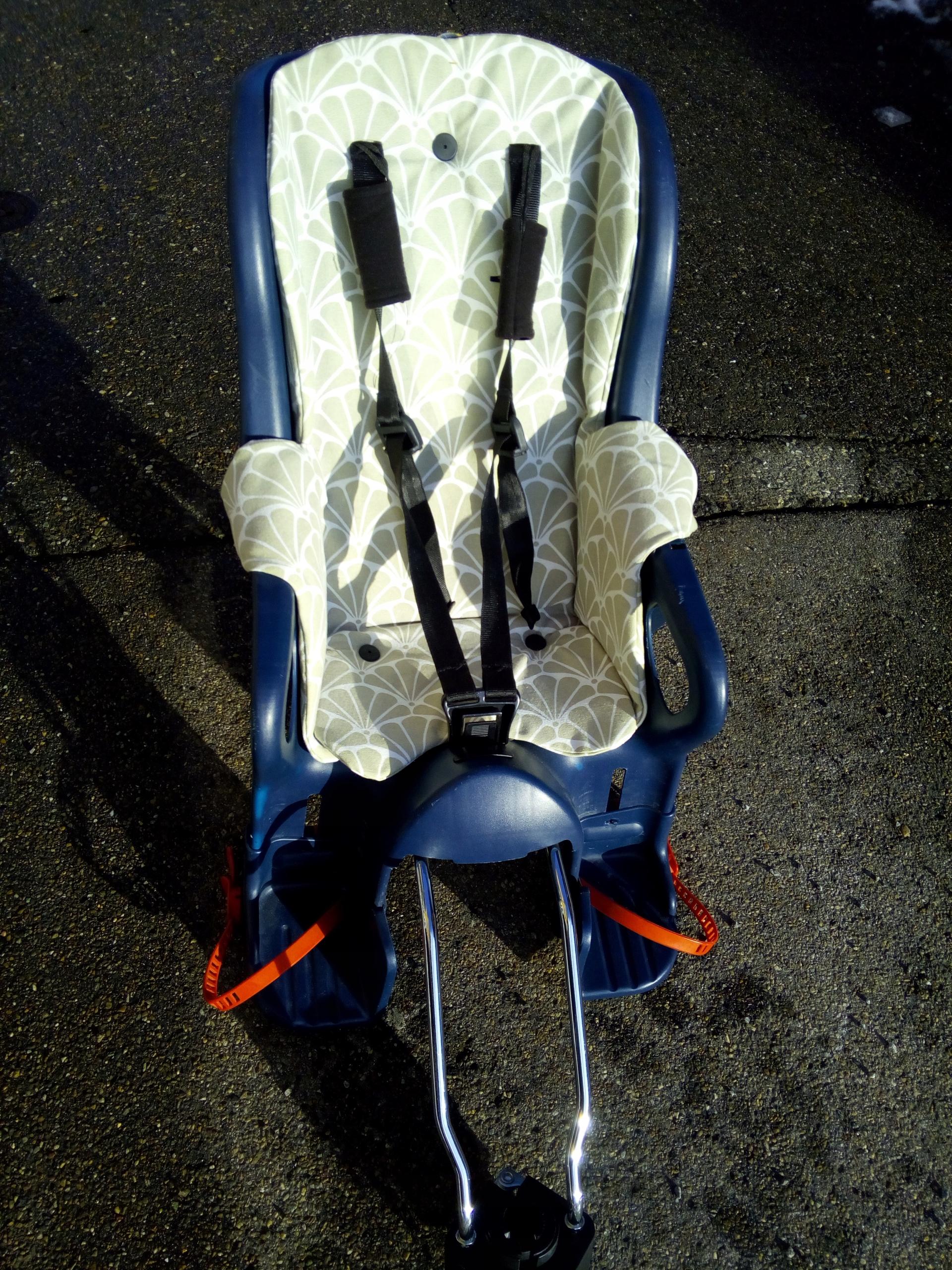 Fotelik Rowerowy Romer Jockey do 22kg