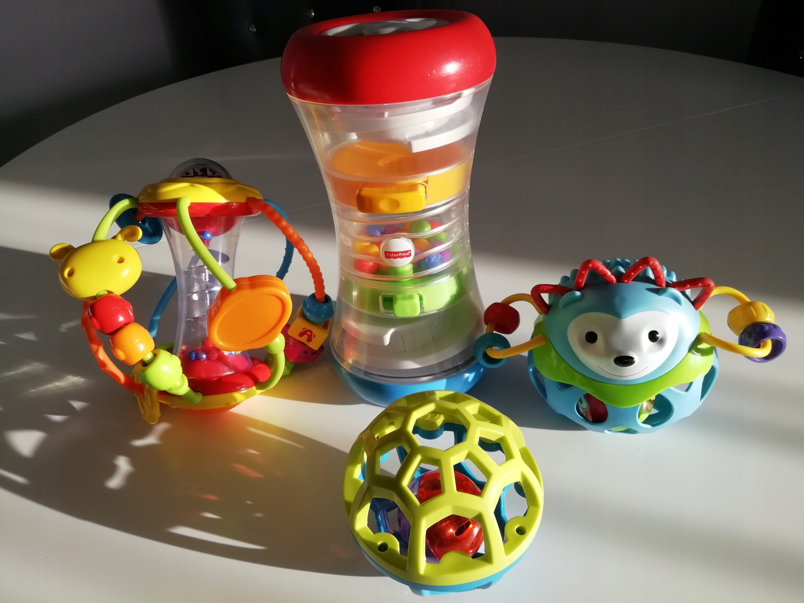 Zestaw 4 zabawek jak nowe
